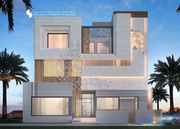 Villa House Front Elevation : Desain rumah online