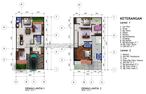 Related Posts Desain Rumah Klasik 3 Lantai Ukuran