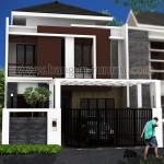 Desain Rumah 2 Lantai di Lahan 8 x 18 M2