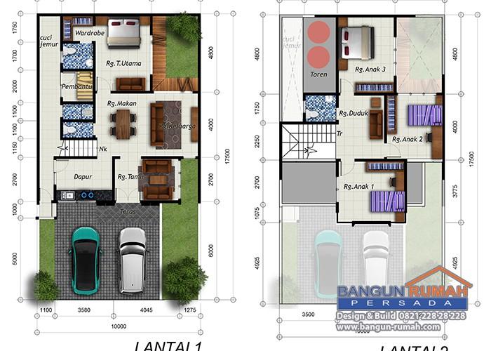 Desain Rumah Ibu Julia Patricia_denah