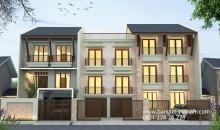 Desain Rumah Kos dan Rumah Tinggal di Jakarta Timur