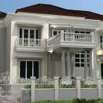 Rumah Ibu Novi Herawati  Ampera Jakarta Selatan