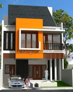 desain rumah minimalis 2 lantai di lahan 8 x 15 m2