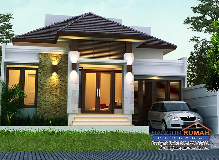 Rumah Tropis Bergaya Bali Modern
