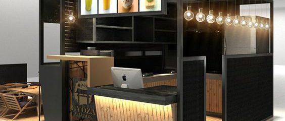 Desain Booth Unik dan Keren