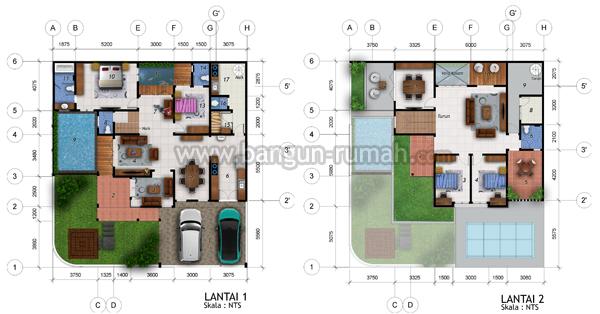 Desain Rumah Hook Di Lahan 16 X 17 M2 Desain Rumah Online