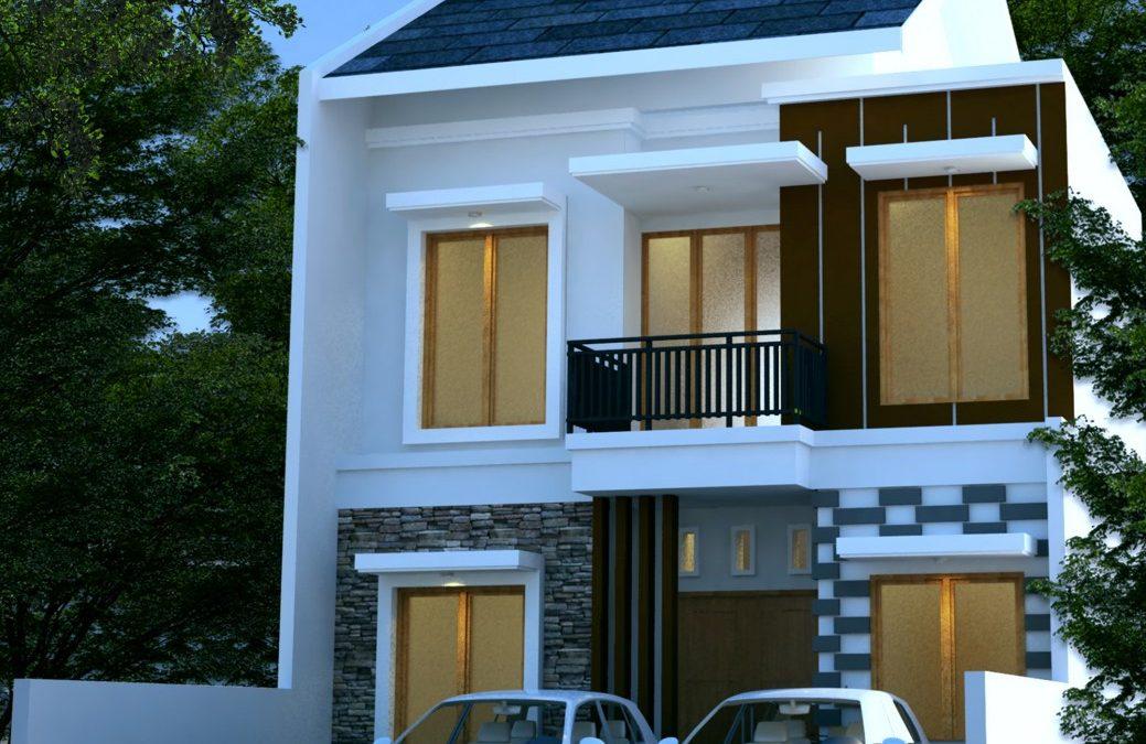 Desain Rumah Minimalis 2 Lantai Di Lahan 8 X 15 M2 Desain Rumah