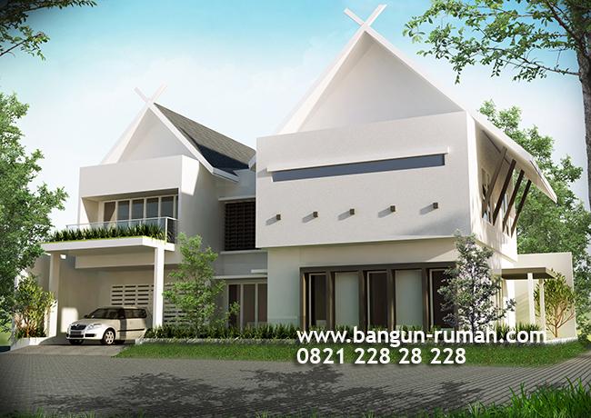 Desain Rumah 2 Lantai di Bendungan Hilir Jakarta