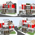 Desain Rumah Bogor | Desain Rumah Modern Tropis di Kota Hujan Bogor