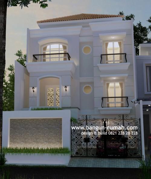 Desain Rumah Klasik Pulomas Jakarta Timur Berdiri Lahan 10 Related