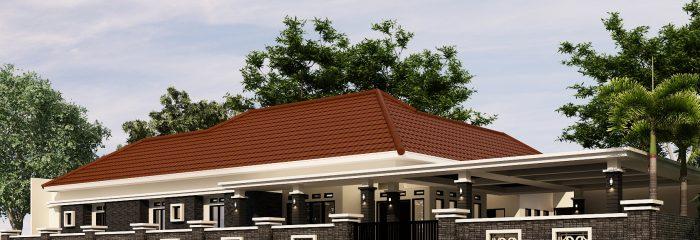 Desain Rumah Mewah 1 Lantai di Majalengka