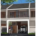 Desain Rumah Minimalis 2 Lantai di Lahan 7,5 M x 23 M2