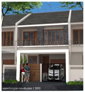 Desain Rumah Minimalis 2 Lantai Di Lahan 75 M X 23 M2