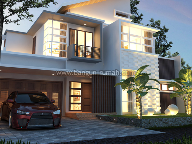 desain pagar rumah modern tropis best ideas for home