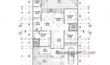 Desain Rumah 12 x 18 M2 Gaya Tropis Satu Lantai