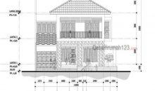 Desain Rumah Hook 12 x 20 M2 Dua Lantai Gaya Tropis
