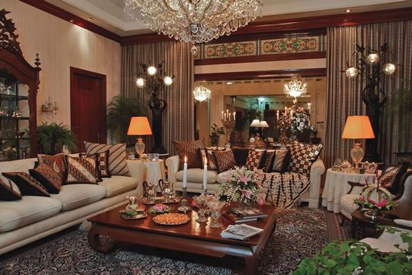Interior Batik Untuk Rumah Tinggal