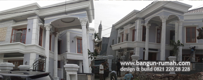 Pembangunan Fisik Rumah Bapak Hendra di Pulomas Jakarta Timur