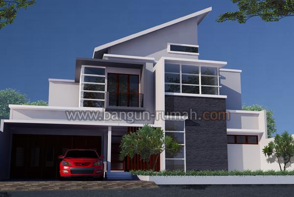 desain rumah tropis modern 2 lantai desain rumah