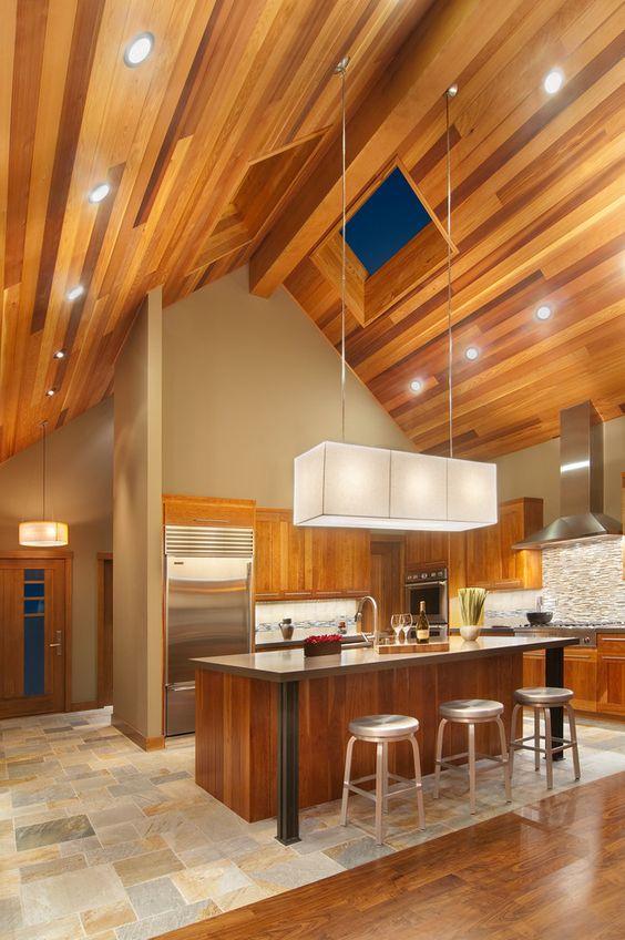 55 Model Plafon Kayu Terbaru Desain Rumah Online