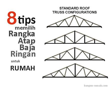 8 Tips Memilih Rangka Atap Baja Ringan Berkualitas