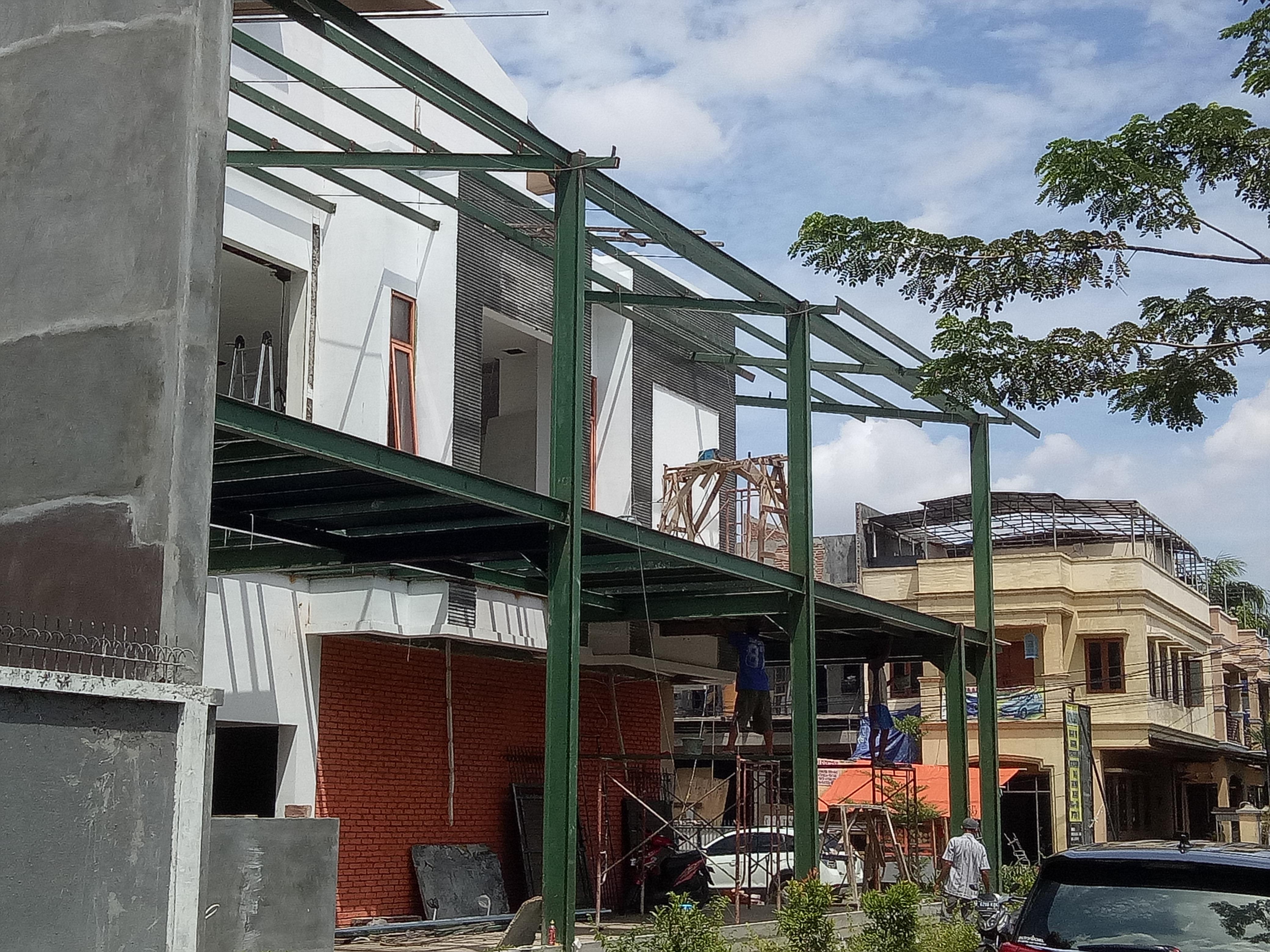 Konstruksi Baja Untuk Rumah Tinggal