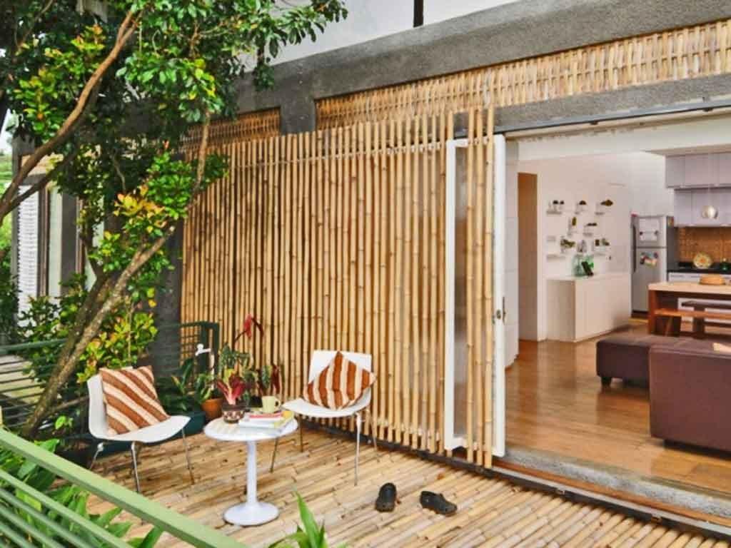 desain rumah bambu terkini ~ desain rumah online