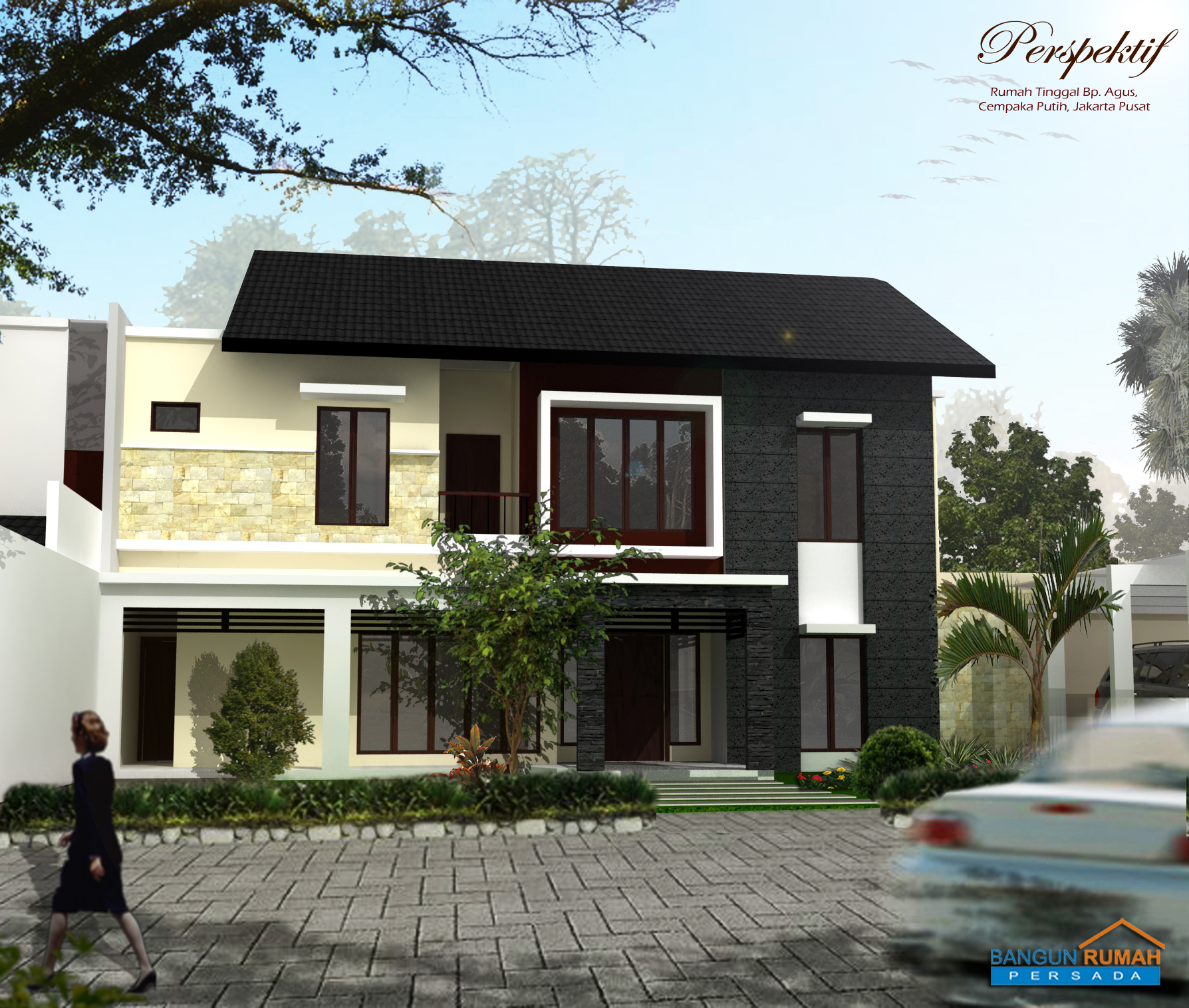 Desain Rumah dan Bangun Rumah di Cempaka Putih Barat