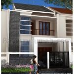 Desain Rumah 2 Lantai di Lahan 7,5 M x 23 M