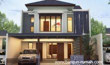 Desain Rumah 2 Lantai Ukuran 9 x 15 M2