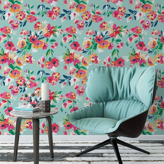 Desain Wallpaper Dinding Rumah Terbaru
