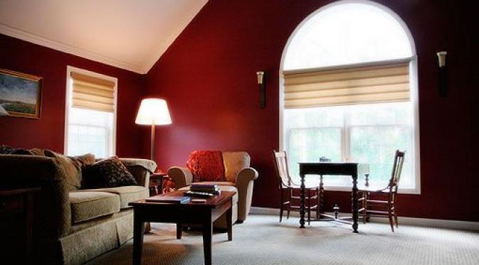 Interior Warna Merah Marun Yang Menggoda Desain Rumah Online
