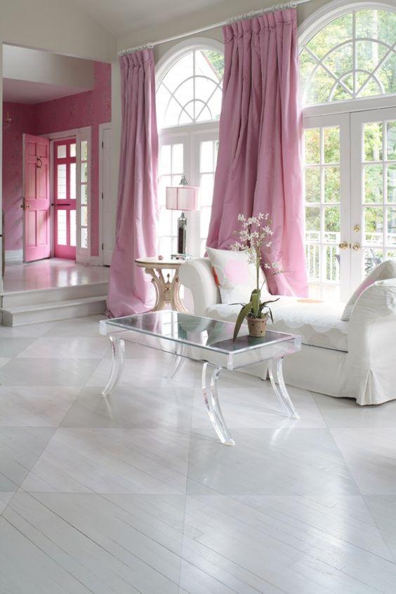 Interior Warna Pink Yang Elegan Desain Rumah Online