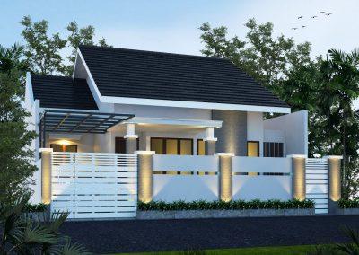 Renovasi Rumah 50% Bangunan Lama Masih di Gunakan, Bangunan Tampil Baru.