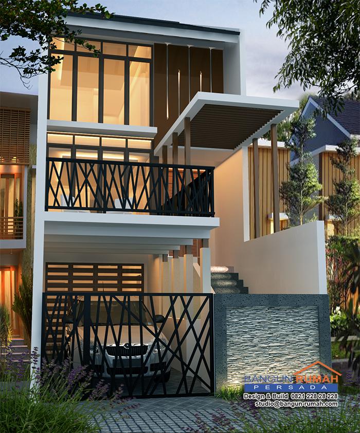 Desain Rumah 3 Lantai Di Lahan 5 X 20 M2