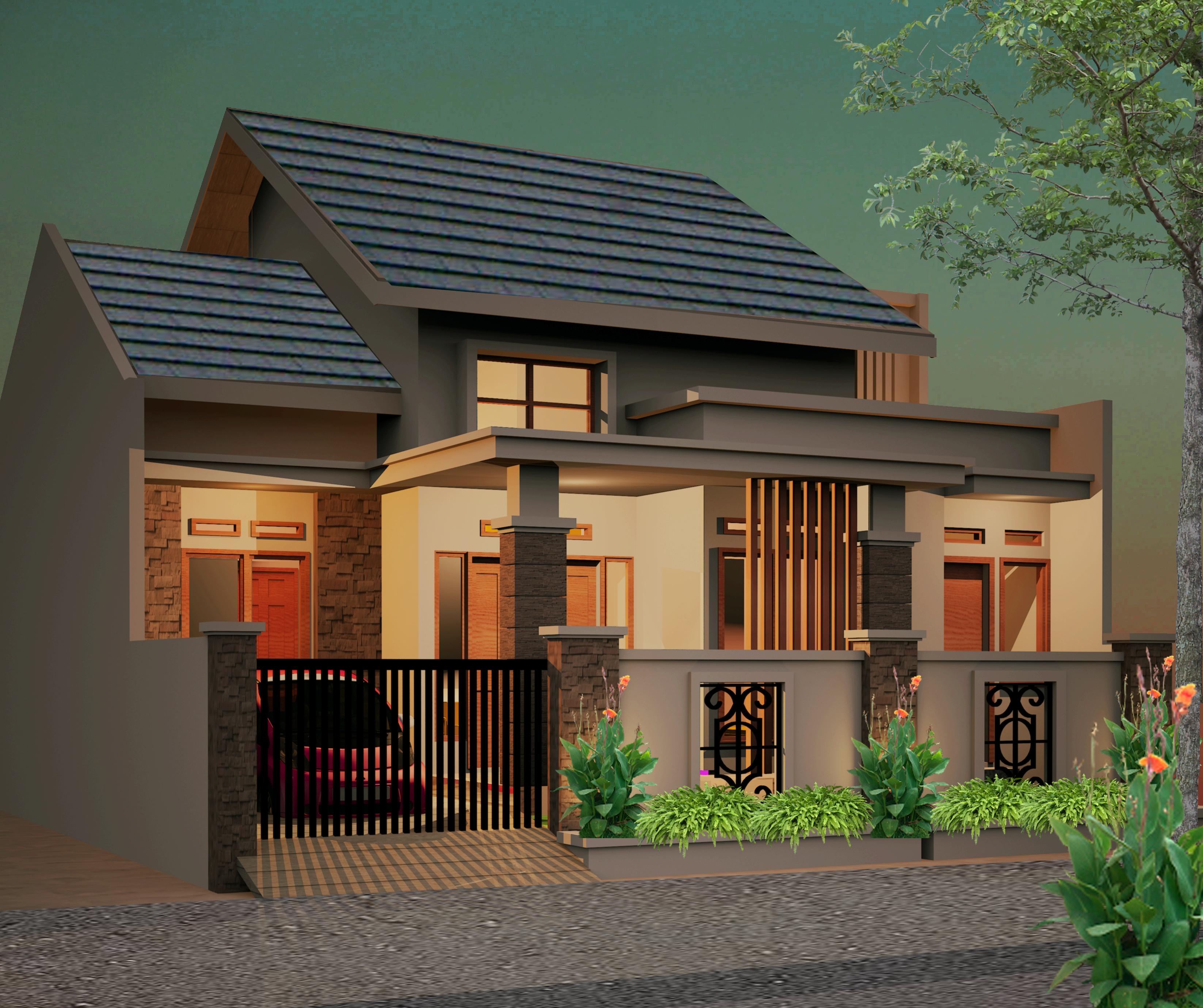 Desain Rumah 10 X 12 Jasa Desain Rumah Online 082122828228