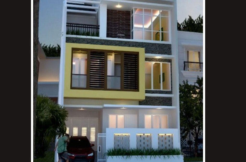 Desain Rumah Minimalis 3 Lantai 8 X 11 M Desain Rumah Online