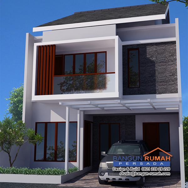 Gambar Desain Rumah Minimalis 7 X 15  desain rumah di lahan 8 x 15 m2 brp 804