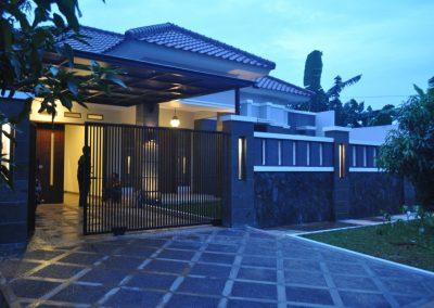 Proyek Pembangunan Rumah Bapak Agus Pramono di Kowilhan Jakarta Timur
