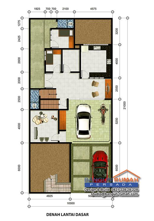 Desain Rumah Klasik 3 Lantai Ukuran 10 X 21 M2 Desain Rumah Online