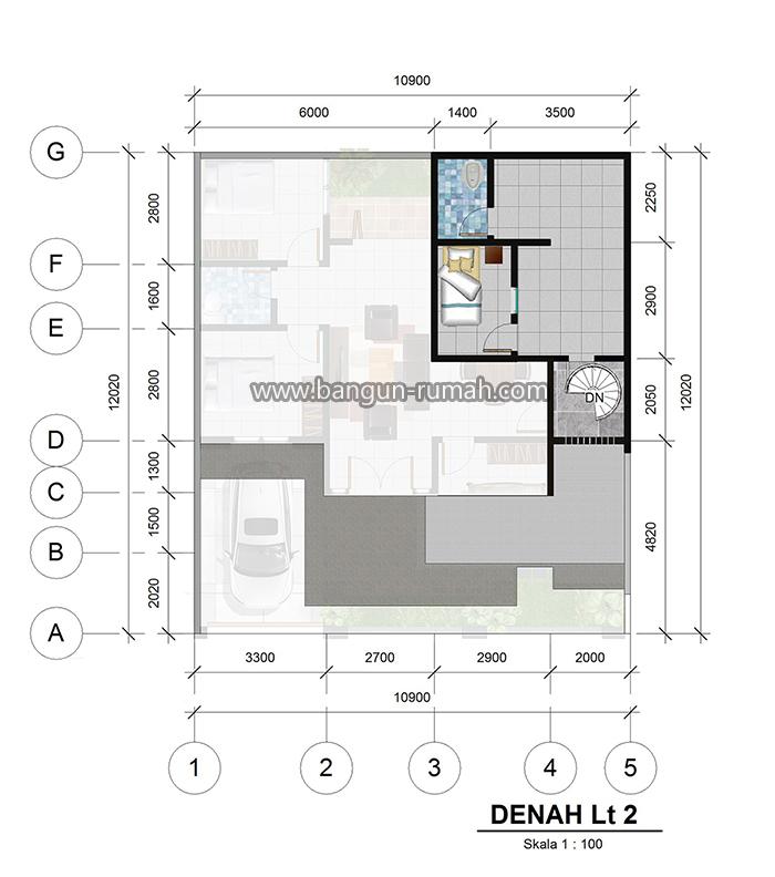 Denah lantai 2_10,9x12