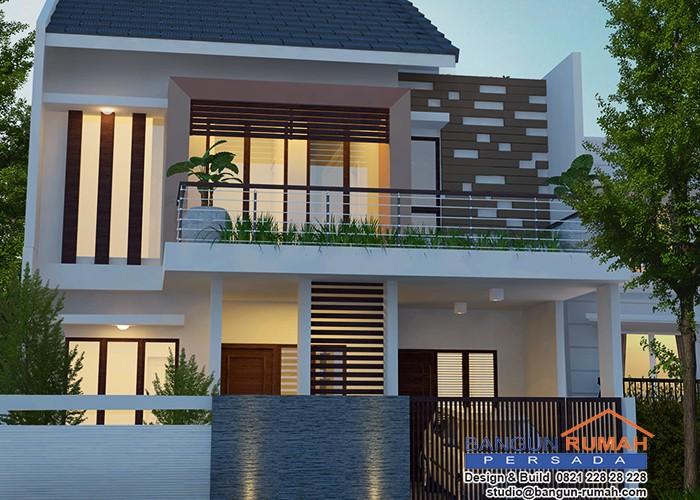 Desain Rumah Bapak Fauzan Jakarta