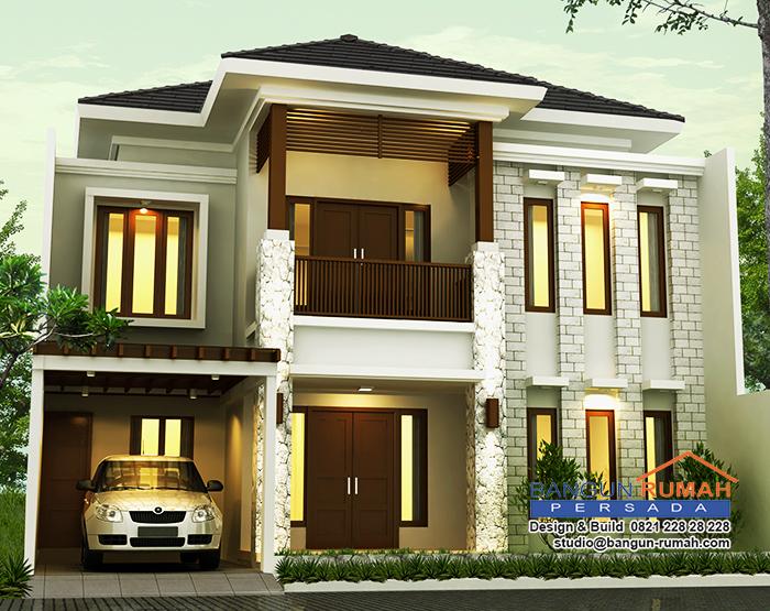 desain rumah terbaru gambar rumah denah rumah modern