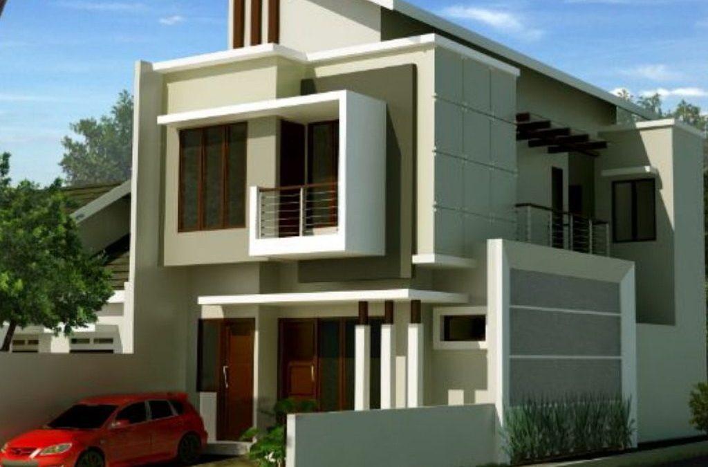 Desain Rumah Hook 2 Lantai Di Lahan 7 x 17 M2