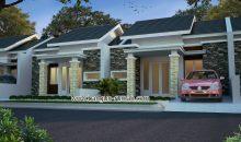 Desain Rumah 1 Lantai di Lahan 8 x 13 M2