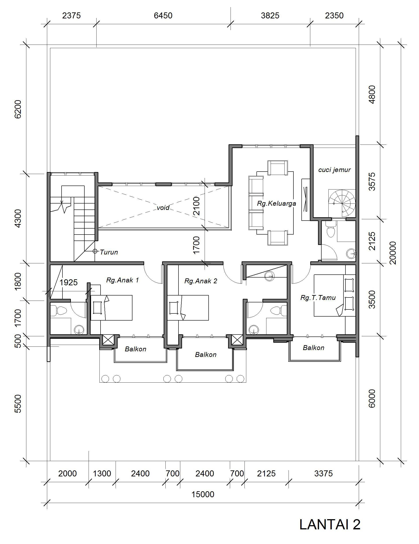 Desain Rumah Klasik 15 X 20 M2 Dua Lantai Ada Kolam Renang Desain Rumah Online