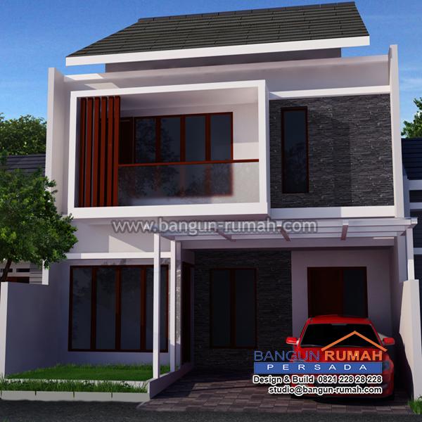 Desain Rumah 2 Lantai di Lahan 8 x 15 M2 | BRP - 805 ...