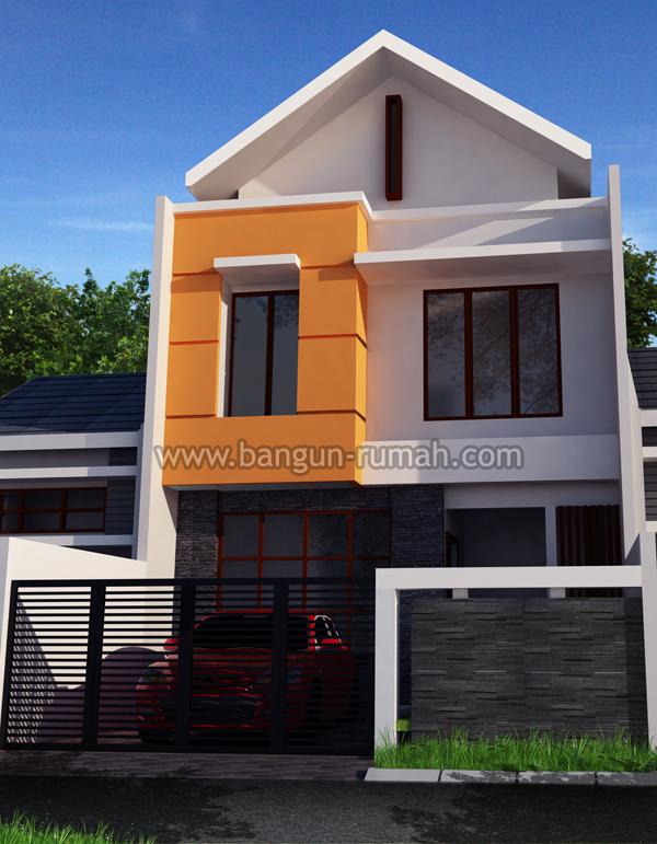 Desain Rumah 2 Lantai Di Lahan 7 X 15 M2 Desain Rumah Online