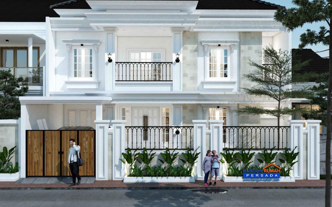 Desain Rumah 3 Lantai Di Lahan 12 x 18 M2 Dengan Fasilitas Komplit (Lift, Ruangan Fitnes, dan Kolam Renang )
