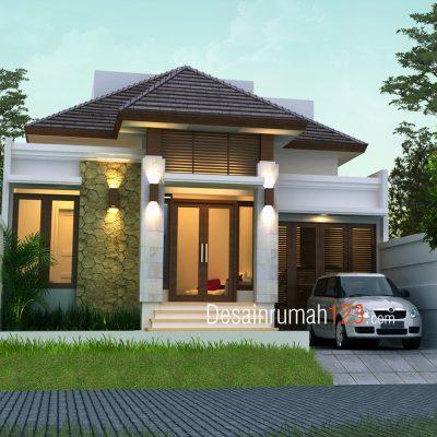 rumah kecil tapi mewah dengan konsep desain yang unik